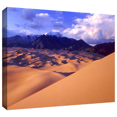 Brushstone Great Sand Dunes Gallery Wrapped CanvasWall Art