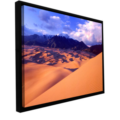 Brushstone Great Sand Dunes Gallery Wrapped Floater-Framed Canvas Wall Art
