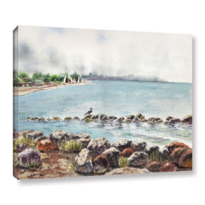 Brushstone Hazy Morning Crab Cove Gallery WrappedCanvas Wall Art