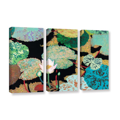 Brushstone Hot And Humid 3-pc. Gallery Wrapped Canvas Wall Art