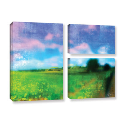 Brushstone Homeland 3-pc. Flag Gallery Wrapped Canvas Wall Art