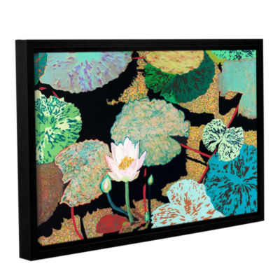 Brushstone Hot And Humid Gallery Wrapped Floater-Framed Canvas Wall Art