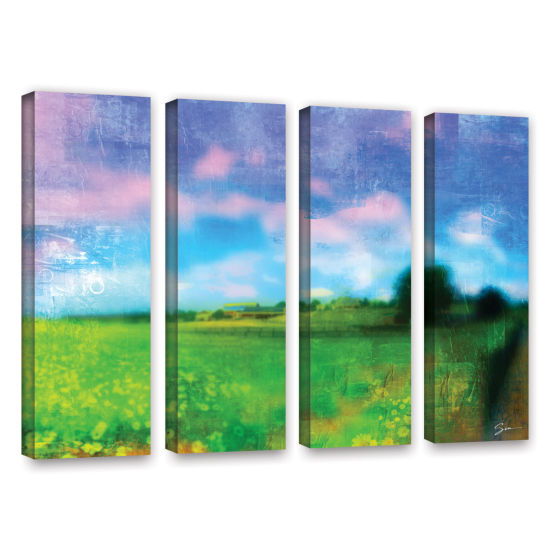 Brushstone Homeland 4-pc. Gallery Wrapped Canvas Wall Art