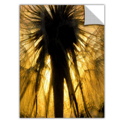Brushstone Heart Of The Lion-Dandelion Removable Wall Decal