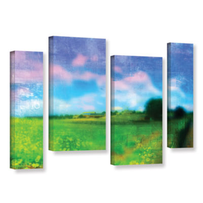 Brushstone Homeland 4-pc. Gallery Wrapped Staggered Canvas Wall Art