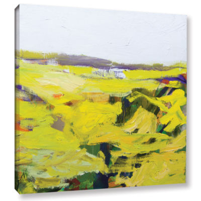 Brushstone Hot And Dry Gallery Wrapped Canvas WallArt