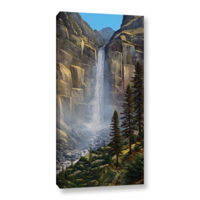 Brushstone Great Falls Gallery Wrapped Canvas WallArt