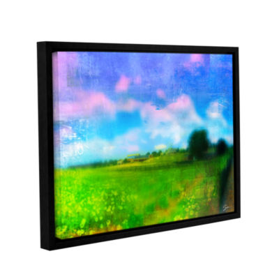 Brushstone Homeland Gallery Wrapped Floater-FramedCanvas Wall Art