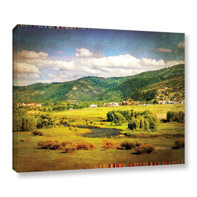 Brushstone Hills Gallery Wrapped Canvas Wall Art