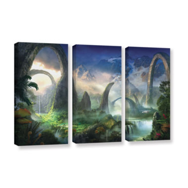 Brushstone Great North Road 3-pc. Gallery WrappedCanvas Wall Art