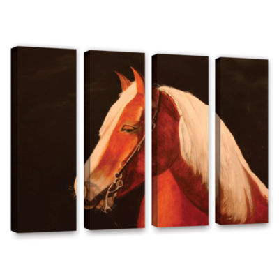 Brushstone Horse Painted 4-pc. Gallery Wrapped Canvas Wall Art