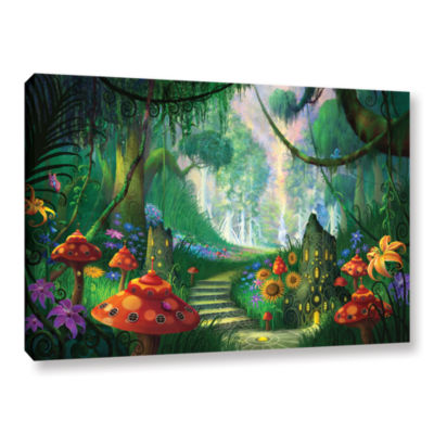 Brushstone Hidden Treasure Gallery Wrapped CanvasWall Art