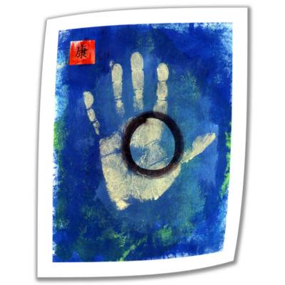 Brushstone Health Hand Canvas Wall Art