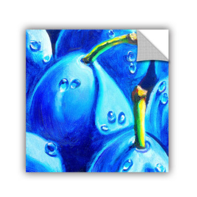 Brushstone Plum Juicy Dew Drops Removable Wall Decal