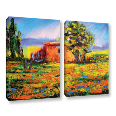 Brushstone Prarie Palace 2-pc. Gallery Wrapped Canvas Wall Art