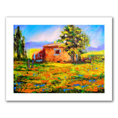 Brushstone Prarie Palace Canvas Wall Art