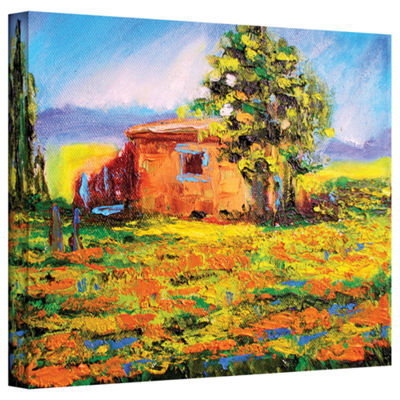 Brushstone Prarie Palace Gallery Wrapped Canvas Wall Art