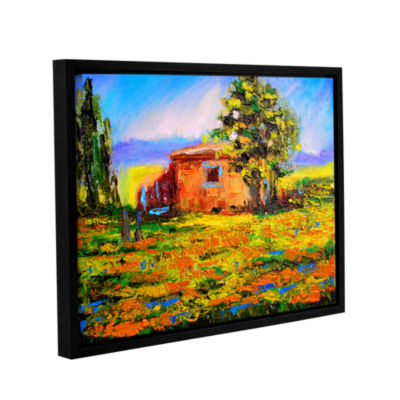 Brushstone Prarie Palace Gallery Wrapped Floater-Framed Canvas Wall Art