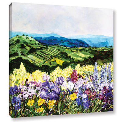 Brushstone Pollinator's Ravine Gallery Wrapped Canvas Wall Art