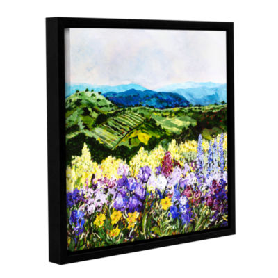 Brushstone Pollinator's Ravine Gallery Wrapped Floater-Framed Canvas Wall Art
