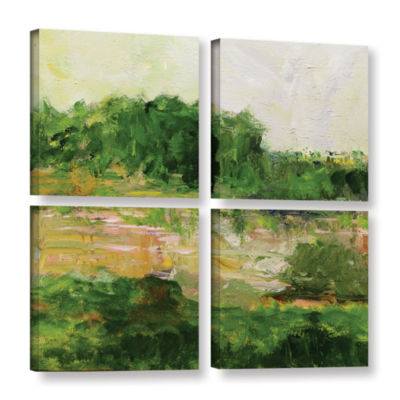 Brushstone Portsmouth 4-pc. Square Gallery WrappedCanvas Wall Art
