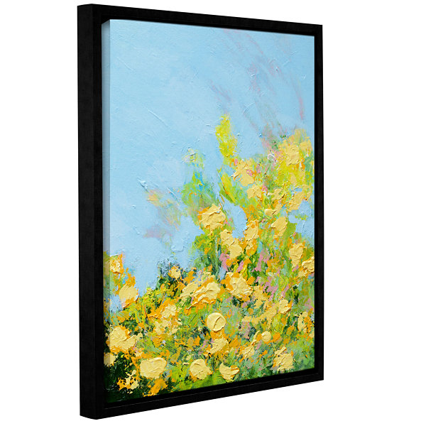 Brushstone Ringling Garden Gallery Wrapped Floater-Framed Canvas Wall Art