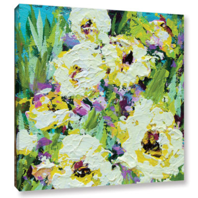Brushstone Powis Castle Garden Gallery Wrapped Canvas Wall Art