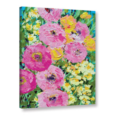 Brushstone Queen Mary Garden Gallery Wrapped Canvas Wall Art