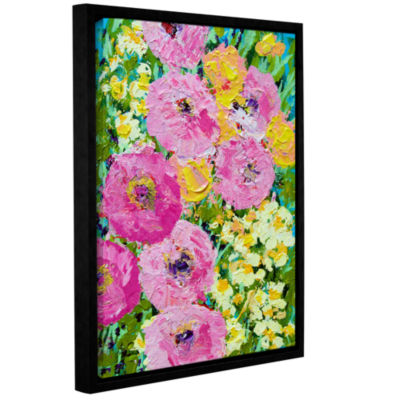 Brushstone Queen Mary Garden Gallery Wrapped Floater-Framed Canvas Wall Art