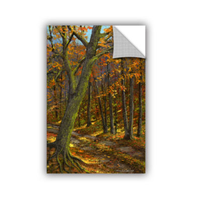 Brushstone Road In The Woods Removable Wall Decal