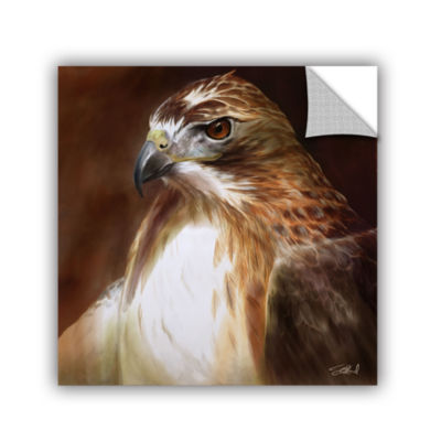 Brushstone Red-Tailed Hawk Removable Wall Decal