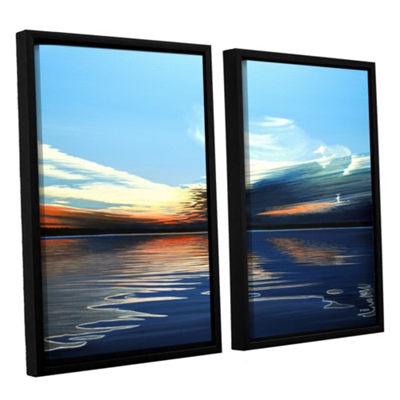 Brushstone Quiet Reflections 2-pc. Floater FramedCanvas Wall Art