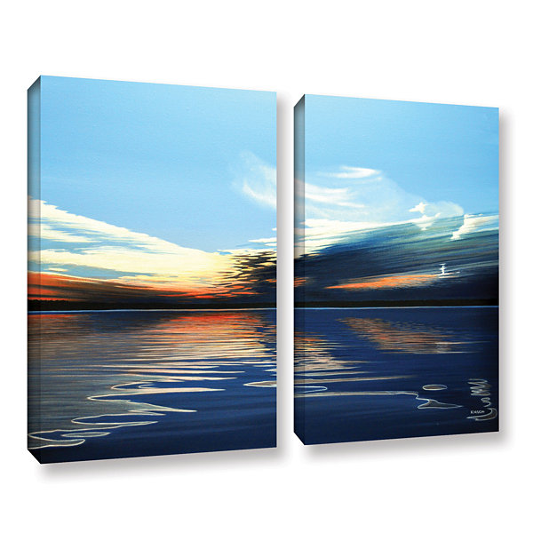 Brushstone Quiet Reflections 2-pc. Gallery WrappedCanvas Wall Art