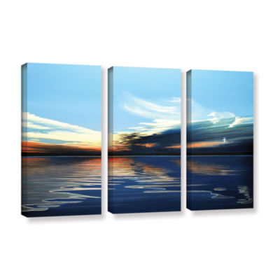 Brushstone Quiet Reflections 3-pc. Gallery WrappedCanvas Wall Art