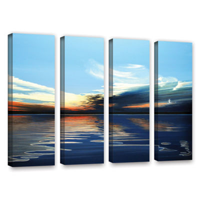 Brushstone Quiet Reflections 4-pc. Gallery WrappedCanvas Wall Art