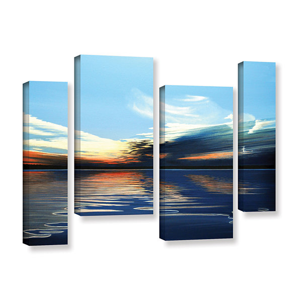 Brushstone Quiet Reflections 4-pc. Gallery WrappedStaggered Canvas Wall Art