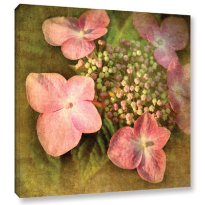 Brushstone Pretty In Pink Gallery Wrapped Canvas Wall Art