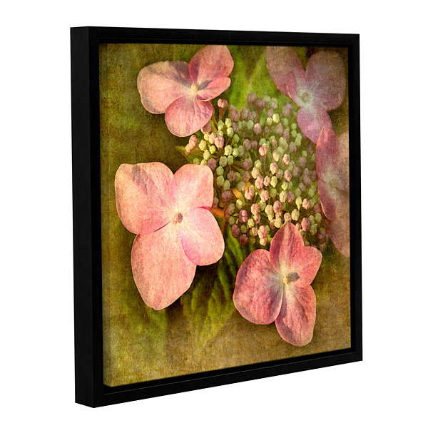 Brushstone Pretty In Pink Gallery Wrapped Floater-Framed Canvas Wall Art