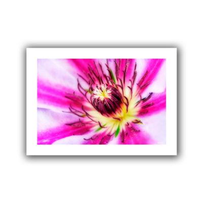 Brushstone Pink Petals Canvas Wall Art