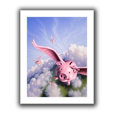 Brushstone Piggies Canvas Wall Art