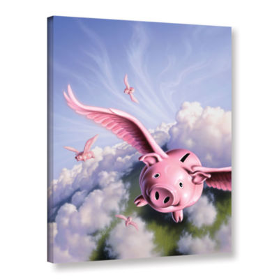 Brushstone Piggies Gallery Wrapped Canvas Wall Art