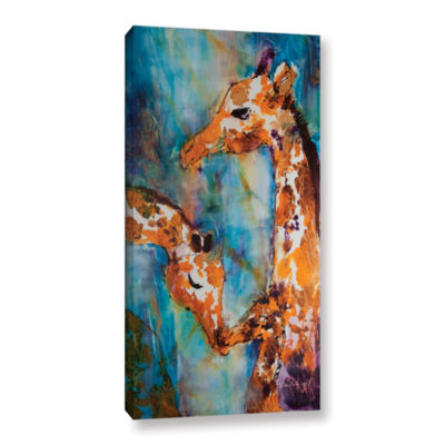 Brushstone Protection Gallery Wrapped Canvas WallArt