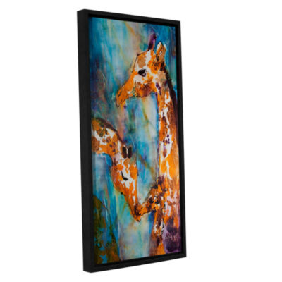 Brushstone Protection Gallery Wrapped Floater-Framed Canvas Wall Art