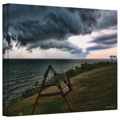Brushstone Polterstorm Or Thundergeist Gallery Wrapped Canvas Wall Art