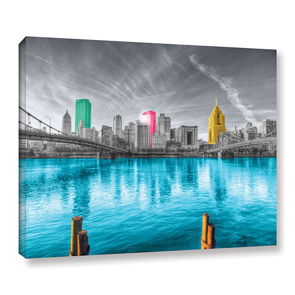 Brushstone Pittsburgh Gallery Wrapped Canvas WallArt