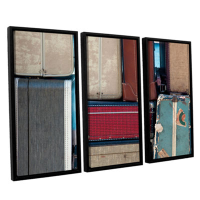 Brushstone Ready To Go 3-pc. Floater Framed Canvas Wall Art