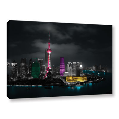Brushstone Pudong Gallery Wrapped Canvas Wall Art