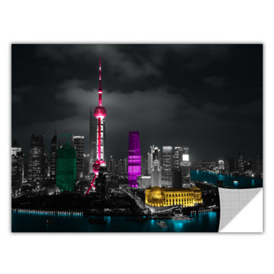 Brushstone Pudong Removable Wall Decal