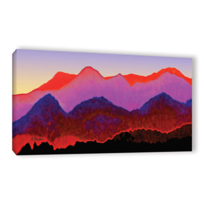 Brushstone Pyrenees In Autumn Gallery Wrapped Canvas Wall Art