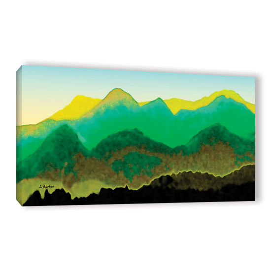Brushstone Pyrenees In Spring Gallery Wrapped Canvas Wall Art